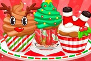 Adorable Christmas Cupcakes Game