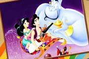 game Aladdin And Yasmin Online Coloring