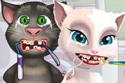 game Angela And Tom At The Dentist