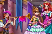 Anna And Ariel Dressup Game
