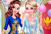 Anna And Elsa Arendelle Ball Game