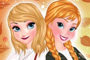 game Anna And Elsa Autumn Trend Alert
