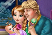 game Anna And Kristoff Baby Feeding