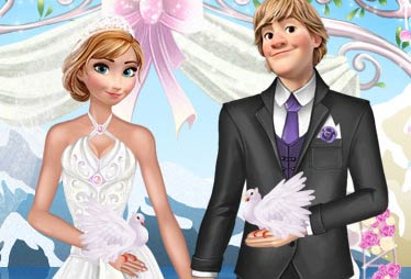 game Anna And Kristoff Wedding Night