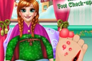 game Anna Elsa Foot Check-Up