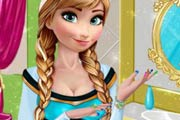 game Anna`s Frozen Manicure