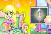 game Applejack Baby Birth