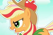 game Applejack Rainbow Power Style