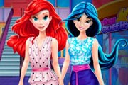 game Ariel And Jasmine Mall Shopping