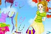 Autumn Colors Dress Up Game