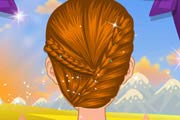 game Autumn Scarves And Hairstyles