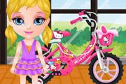 game Baby Barbie Bicycle Ride