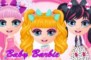 Baby Barbie Cutie Pops Costumes Game