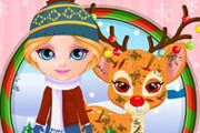 Baby Barbie Rudolf Injury Game