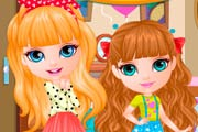 Baby Barbie Sisters Surprise Game