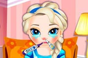 Baby Elsa Flu Problems Game