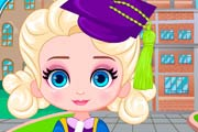 game Baby Elsa Graduation Photoshoot