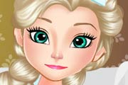 game Baby Elsa Suffers Of Measles