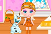 game Baby Elsa`s Thanksgiving
