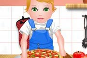 game Baby Juliet Cooking Pizza