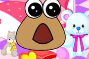 game Baby Pou Room Decoration