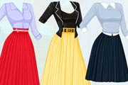 game Barbie Autumn Trends Pleated Skirts
