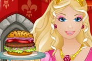game Barbie Burger Restaurant