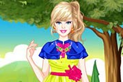 game Barbie Enchanted Princess Dress Up