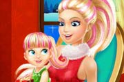 game Barbie Family Christmas Eve