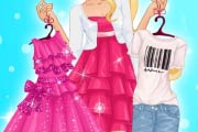 Barbie Girly Vs Boyfriend Outfit