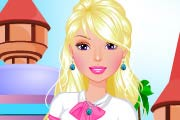 Barbie going to school dressup