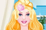 Barbie Hair Style Studio Game