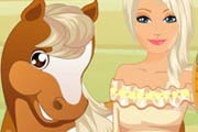 game Barbie Horse Caring