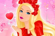 game Barbie Lady In Red