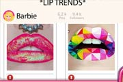 game Barbie Lip Art Blog Post