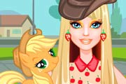 Barbie My Little Pony Makeover Game