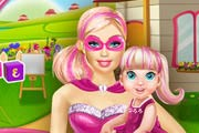 game Barbie Playing With Baby