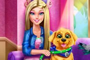 Barbie Puppy Potty Training Game
