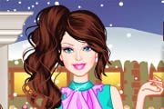 game Barbie Winter Shopping