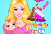 Barbie`s Baby DIY Nursery Game