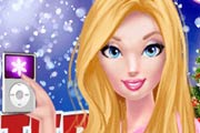 game Barbie`s Winter Goals