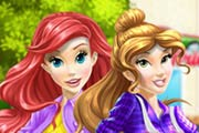 game Belle and Ariel Car Wash