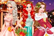 game BFFs Princesses Christmas