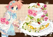 Blossom Cake Decoration