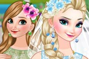game Bride Elsa and Bridesmaid Anna