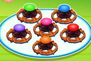 game Cerise's Wood Chocolate Pretzel Treats