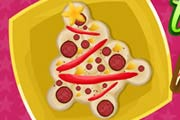Christmas Tree Pizza Game