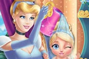 game Cinderella Baby Wash