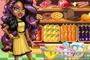 Clawdeen Wolf Christmas Shopping Game