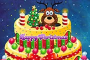 game Creamy Christmas Cake Decor
